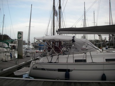 BIMINI TOP large 4 Archi -/- Prodotto completo -Bavaria 36 Cruiser (2011)